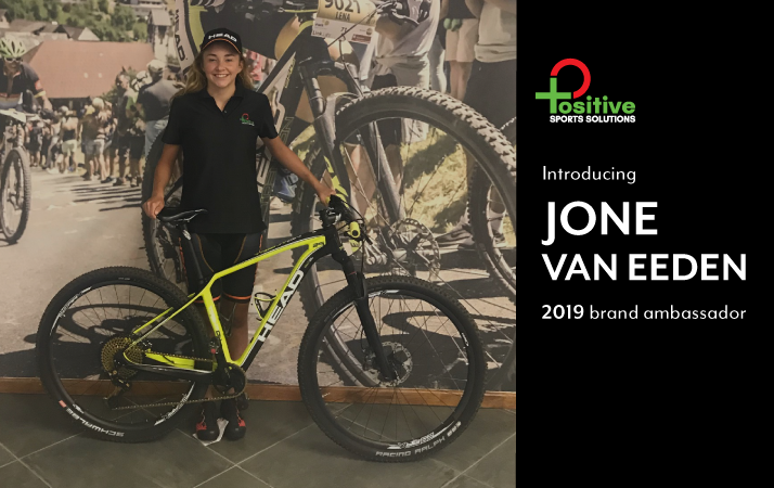 Jone van Eeden joins Positive Sports Solutions as a brand ambassador